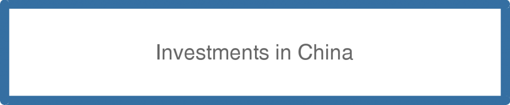 Investments in China
