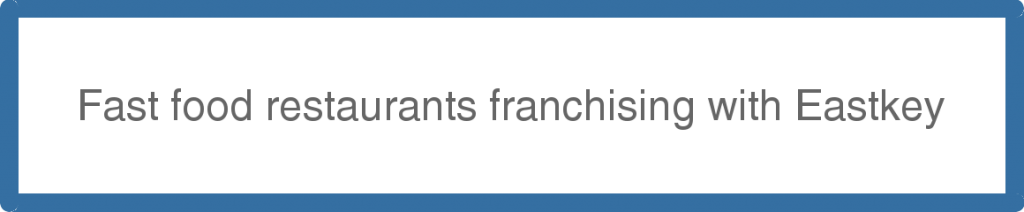 Fast food restaurants franchising with Eastkey